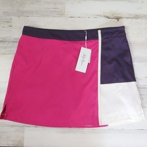 🌿 Lady Hagen Color Block Golf Sports Skort
